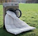 Hygienische Komplettwäsche von Zudecken, Kopfkissen und Matratzenbezügen
